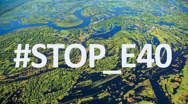 "Public organizations of Poland, Belarus and Ukraine launched a campaign ""Stop E40"". The economic risks and environmental threats of the project are too high."